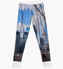 Brooklyn Bridge, New York, USA. Leggings