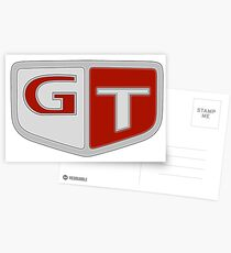 NISSAN N カ ン ン (NISSAN Skyline) GT logo Postcards