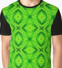 9. Nature Lover: Emerald Drops Graphic T-Shirt
