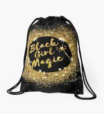 Mochila saco Black Girl Magic. Gran idea de regalo