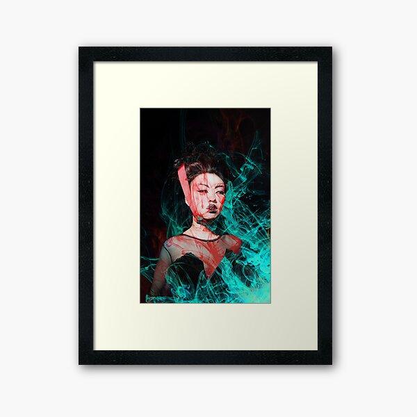 Fifi Rong  art work by Paris Seawell Framed Art Print