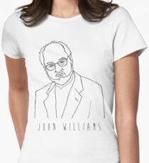 'The John Williams'  Womens Fitted T-Shirt