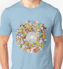 Toon Vortex circular design T-Shirt