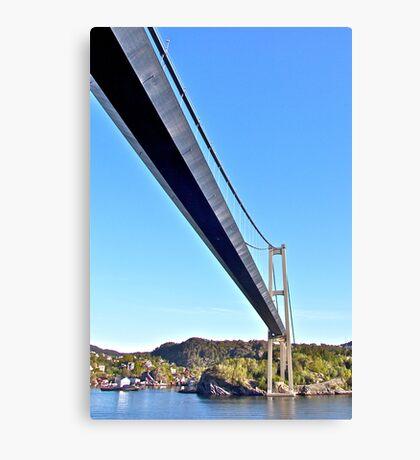 Bridge to Bergen Canvas Print