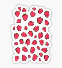 Fresas de invierno Sticker
