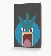 Gyarados Ball Greeting Card