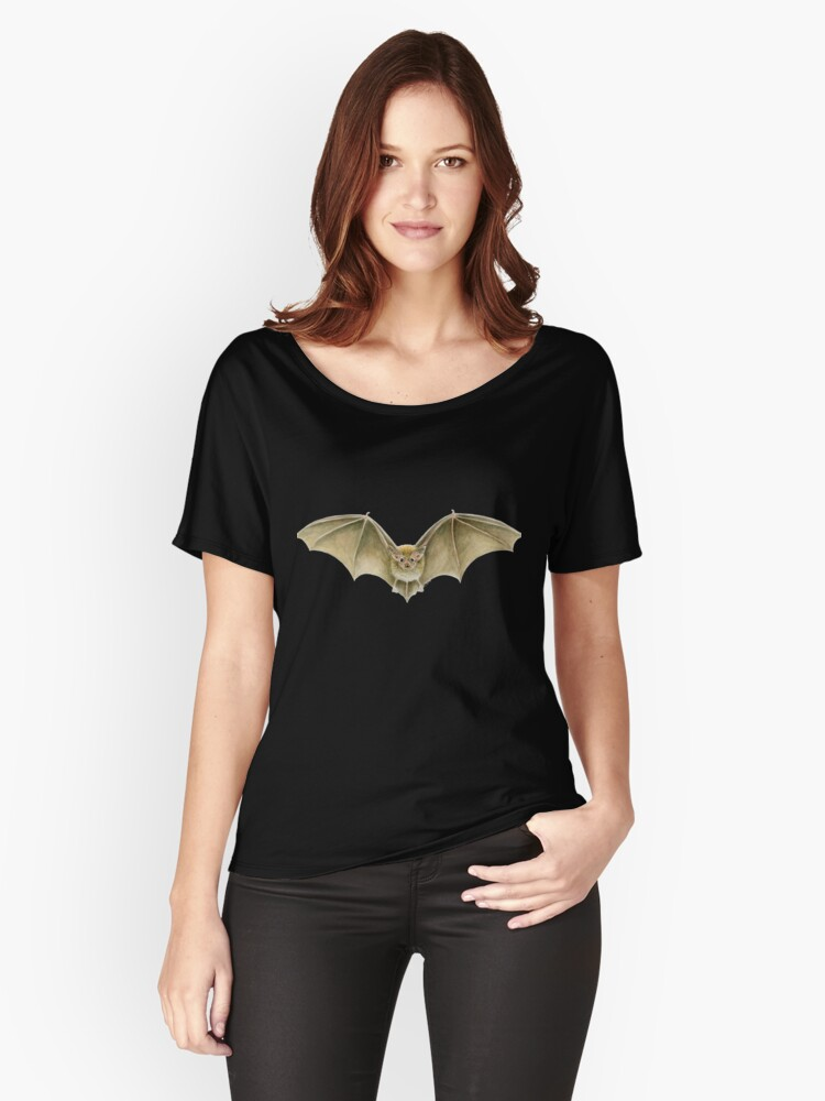 Daubenton's Bat Women's Relaxed Fit T-Shirt Front