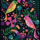 Enchanted Tiki Birds  by CarlyWatts