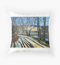 Byer Lake Throw Pillow