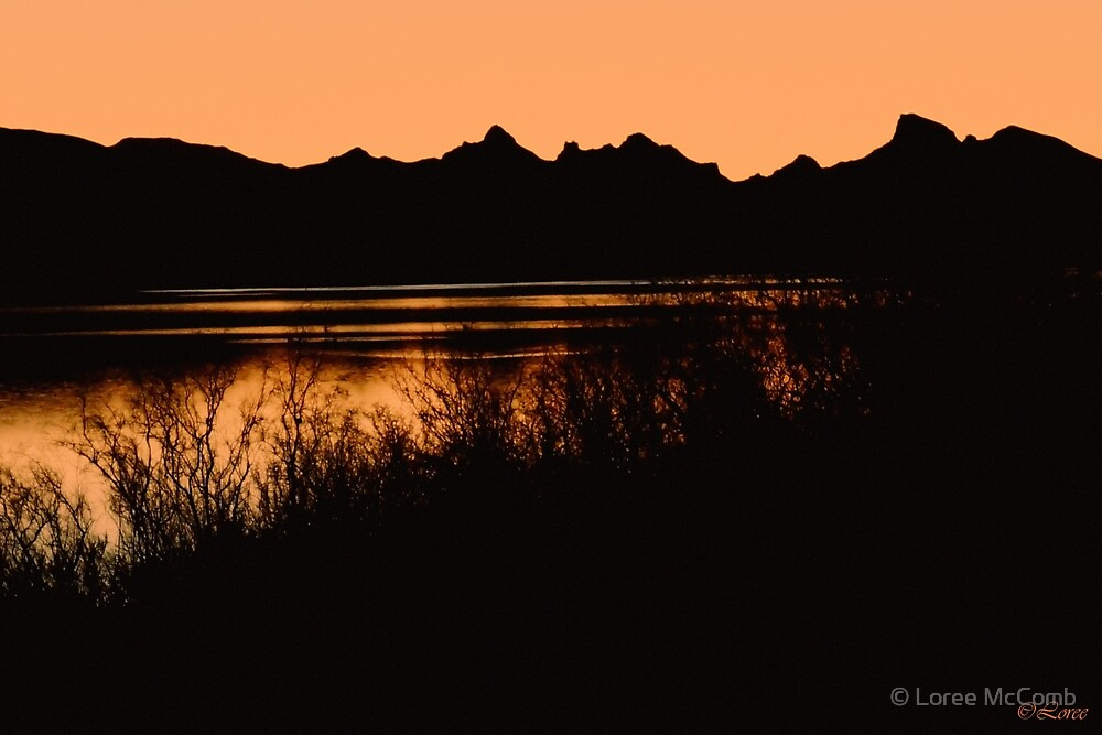 Mountain Silhouette by © Loree McComb