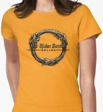 Elder Scrolls Online Logo Womens Fitted T-Shirt