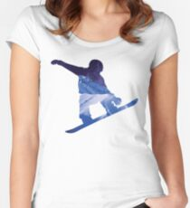 Snowboard 2 Women's Fitted Scoop T-Shirt
