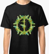 Psychedelic jungle kaleidoscope ornament 13 Classic T-Shirt