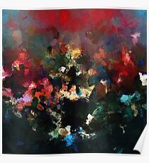 Emotional Abstract Artwork Poster