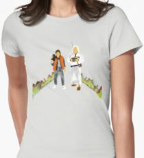 Back to the Future Womens Fitted T-Shirt