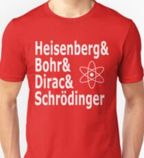 Funny Physics and Engineering Design with Quantum Physicists T-Shirt