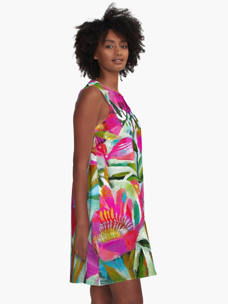 Alternate view of Summer roses A-Line Dress
