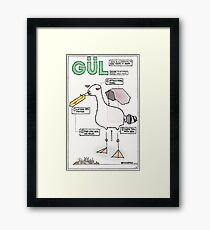 Seagull Assembly Instructions Framed Print