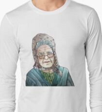 Mujer portuguesa Camiseta de manga larga