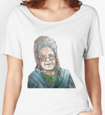 Mujer portuguesa Camiseta ancha para mujer