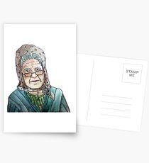 Mujer portuguesa Postales