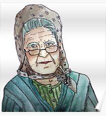 Mujer portuguesa Póster