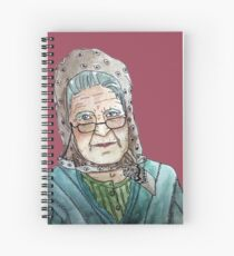 Mujer portuguesa Cuaderno de espiral