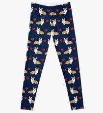 Corgi valentines day gifts for welsh corgi owner heart corgis must have valentines day gifts for pet lover Leggings