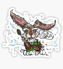 Mad as a March Hare Sticker