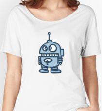 robot android funny Women's Relaxed Fit T-Shirt