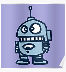robot android funny Poster