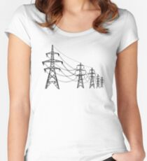 Pylons Women's Fitted Scoop T-Shirt