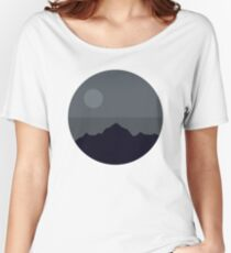 Death Star Mountains Women's Relaxed Fit T-Shirt