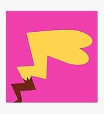 Female Pikachu Tail Photographic Print