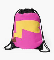 Female Pikachu Tail Drawstring Bag