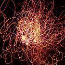 fireworks patterns #3 by david gilliver