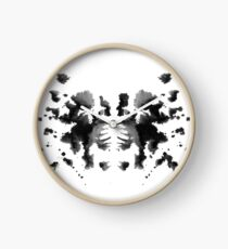 Ink Blot 1 Clock