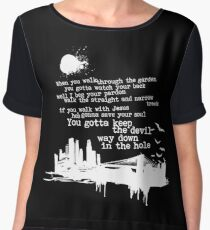 "Way Down In The Hole"" - The Wire - Light Women's Chiffon Top"