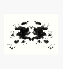 Ink Blot 2 Art Print