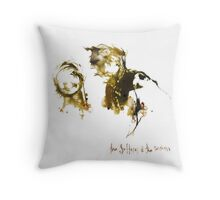 The Sufferer & The Witness Throw Pillow