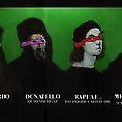 Teenage Mutant Renaissance Artists by dodadue89