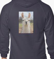 Are You My Llama? Zipped Hoodie