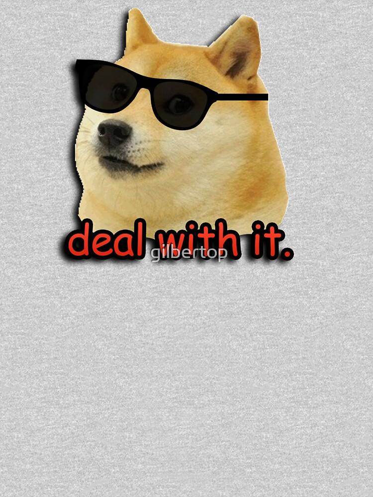 Doge beschäftigt sich damit Hundememe von gilbertop