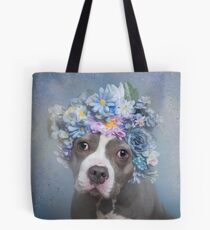 Flower Power, Charlotte Tote Bag