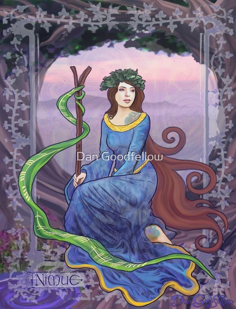 Celtic Goddess - Nimue by Dan Goodfellow