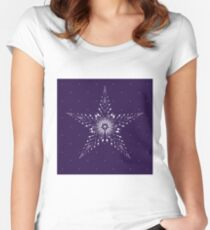 Starry Starry Night Women's Fitted Scoop T-Shirt