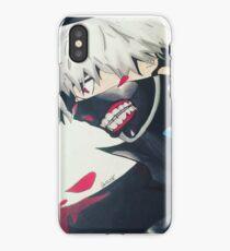 Tokyo Ghoul Kaneki Ken - Mask Blossoms iPhone Case/Skin