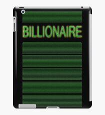 BILLIONAIRE iPad Case/Skin