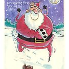 Father Christmas card by dotmund
