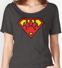 Super Bear Women's Relaxed Fit T-Shirt
